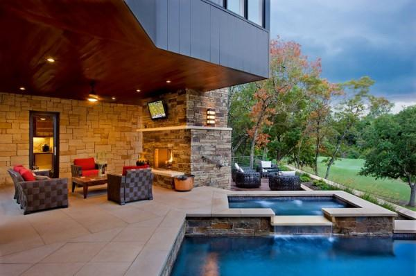 Luxurious and Natural The Westlake Drive Home Design Ideas