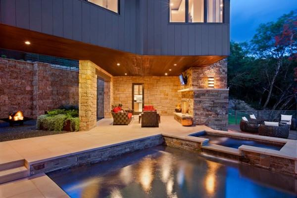 Luxurious and Wonderful The Westlake Drive Home Design in Texas