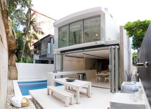 Minimalist Double Bay House Design by Level Orange Architects