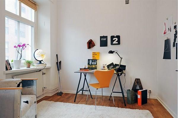Minimalist workdesk in wonderful Apartment Design Inspiration