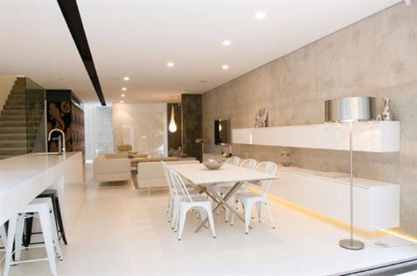 Modern Bay House interior Design in Australia