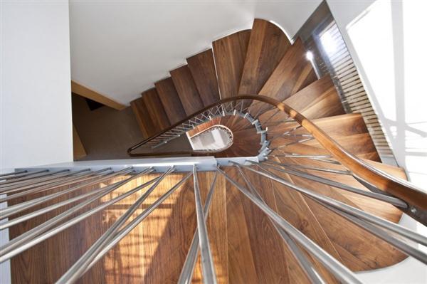 Modern Home by Bricault Design in Venice California stairs design