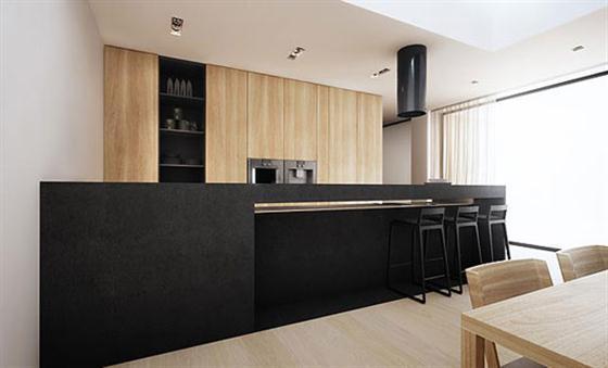 Pantry Black and White Interior Design