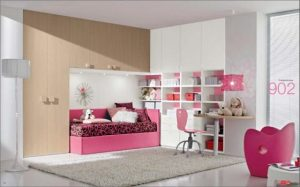 Pink room Kids Bedroom Decorating Ideas
