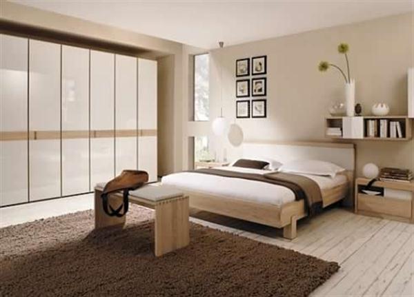 Pleasant Bedroom Design Inspiration by Hulsta