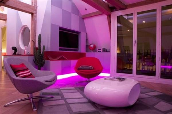 Remodeled Loft Design Ideas with gorgeous concept in Paris x