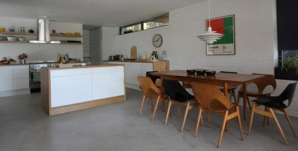 Scandinavian Home interior with cute interior decor