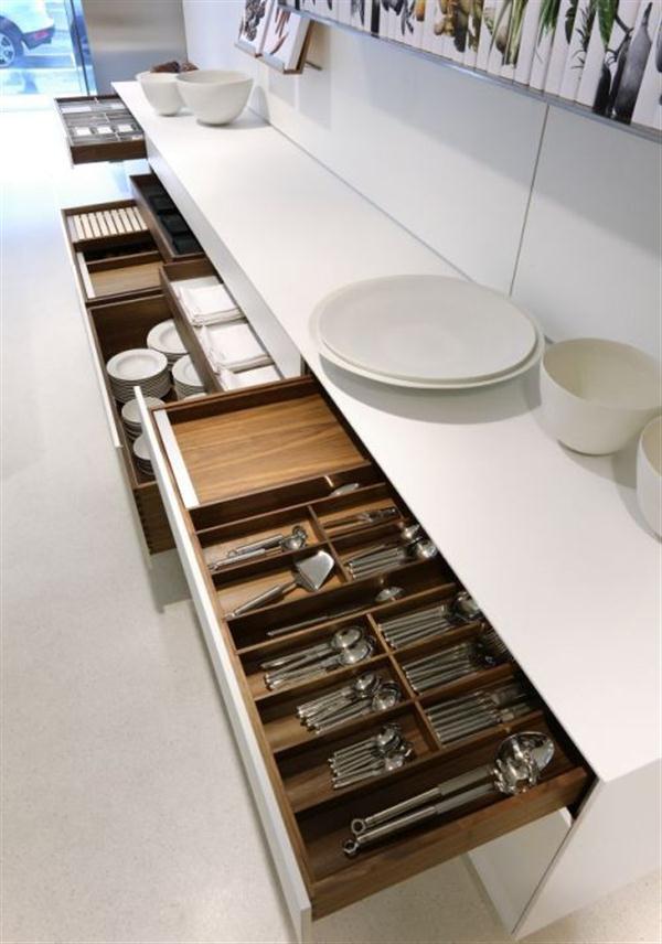 Shelves Kitchen Design by Bulthaup
