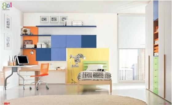Spacious room Kids Bedroom Decorating Ideas