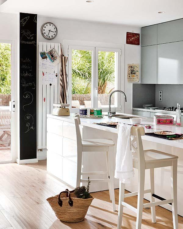 Stylish Remodeled Home Ideas cute kitchen with natural light