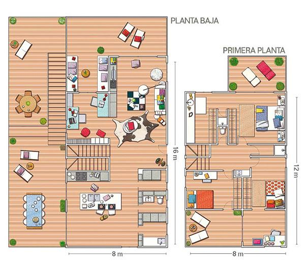 Stylish Remodeled Home design Ideas siteplan