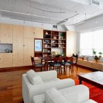 Stylish Wooden Apartment interior Design ideas by ONY Architecture