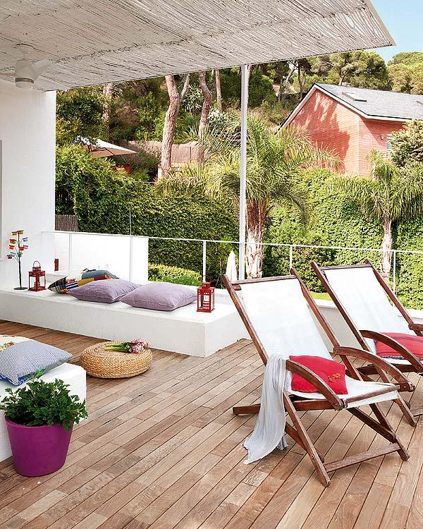 Stylish and creative Remodeled Home Ideas cozy terrace design