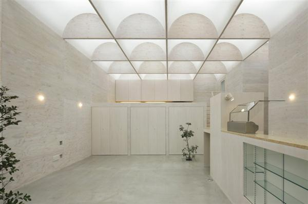 Unique Home Design with Natural Light Ceiling in Yokohama Japan