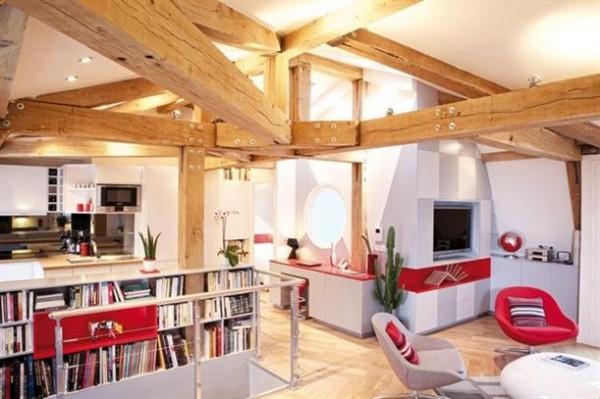 Unique Remodeled Loft Design Ideas with wonderful branch inside x