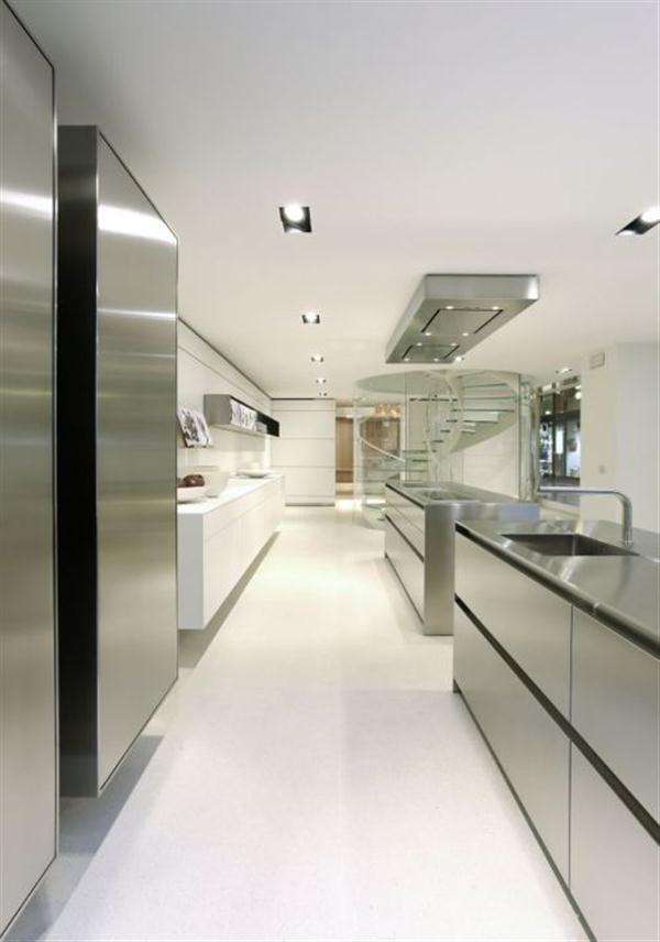 Unique and Stylish Kitchen Design by Bulthaup