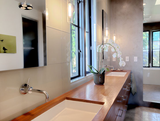 Water faucets of Contemporary Classical Home Design with Natural Interior Decorating Ideas