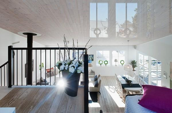 White House Design with cute classical style in Sweden