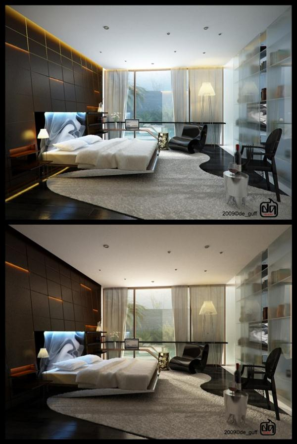 Wonderful and stylish Bedroom Design Inspiration by Willy Gufron