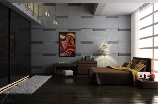 Beautiful Bedroom Design Inspiration by Maximizing Wall Decor