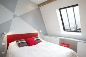 bedroom design Ideas by FrA©dA©ric Flanquart with modern and minimalist concept x