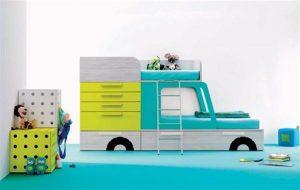 blue car Baby Room Inspiration