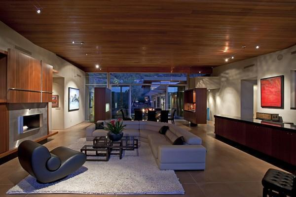 calm interior Design on gorgeous house in Arizona