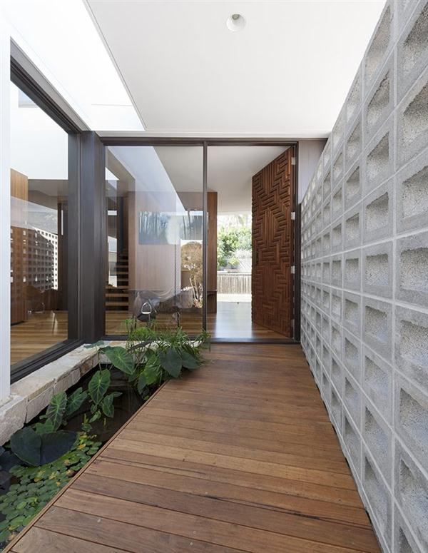 contemporary Home Design with Natural Garden Concept by MCK Architects