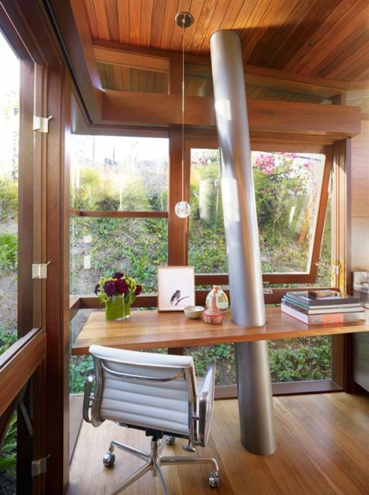contemporary office tree house ideas