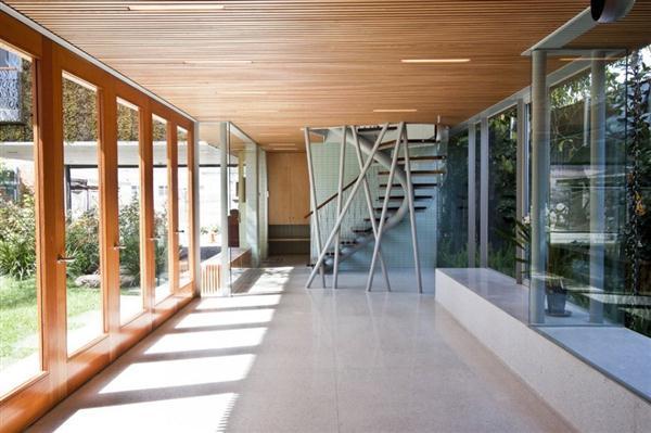 cool Home interior design by Bricault Design in Venice California