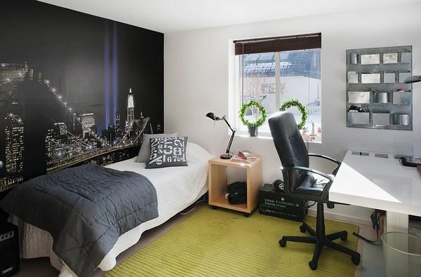cool and simply bedroom Design ideas in Sweden