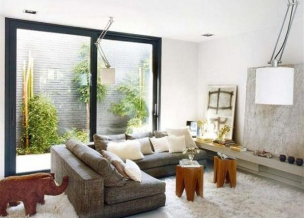 creative Home Interior Design by MiCasa with natural light allowed x