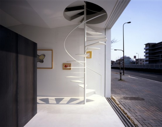 curved spiral staircase Awesome Cool Space Saving under Staircase Design