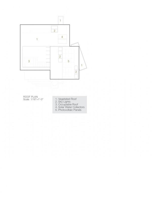 delightful Ellis Residence by Coates Design roofplan