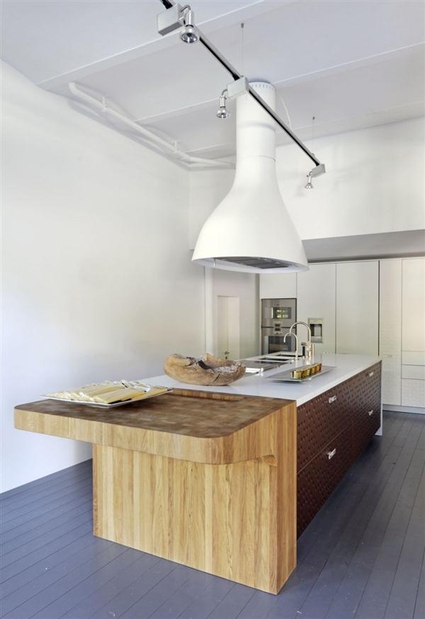 elegant Bright and Unique Italian Kitchen Design Inspiration