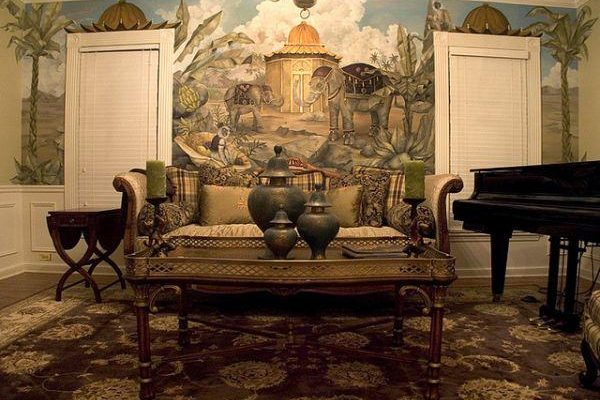 Colorful and Attractive Wall Mural Decorating Ideas