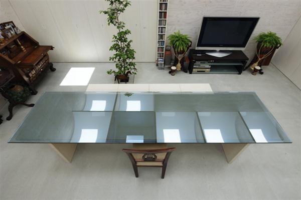 living room Design ideas with Natural Light Ceiling in Yokohama Japan