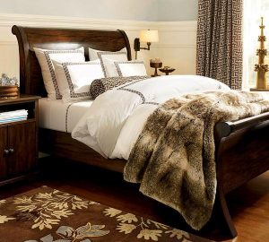 luxurious and Beautiful Sleigh Beds Design Ideas