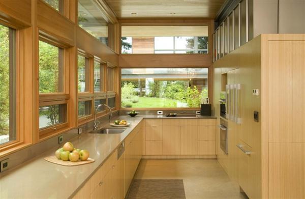 luxurious kitchen design on Ellis Residence by Coates Design
