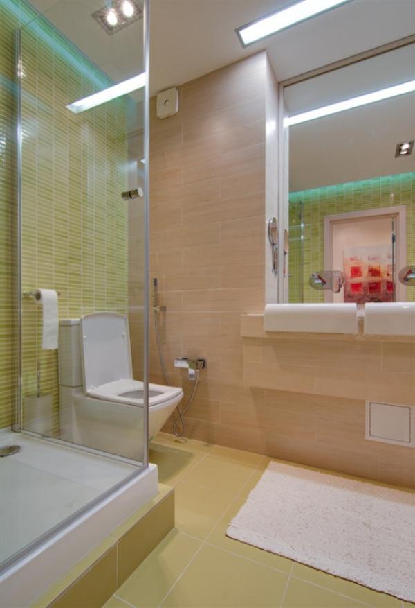 minimalist Apartment with Cool bathroom Design Inspiration