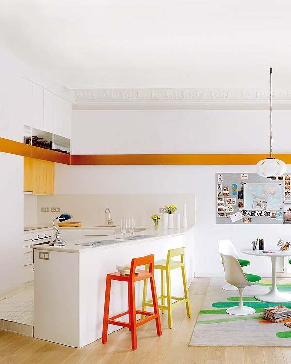 minimalist and artistic kitchen Design Inspiration in Barcelona