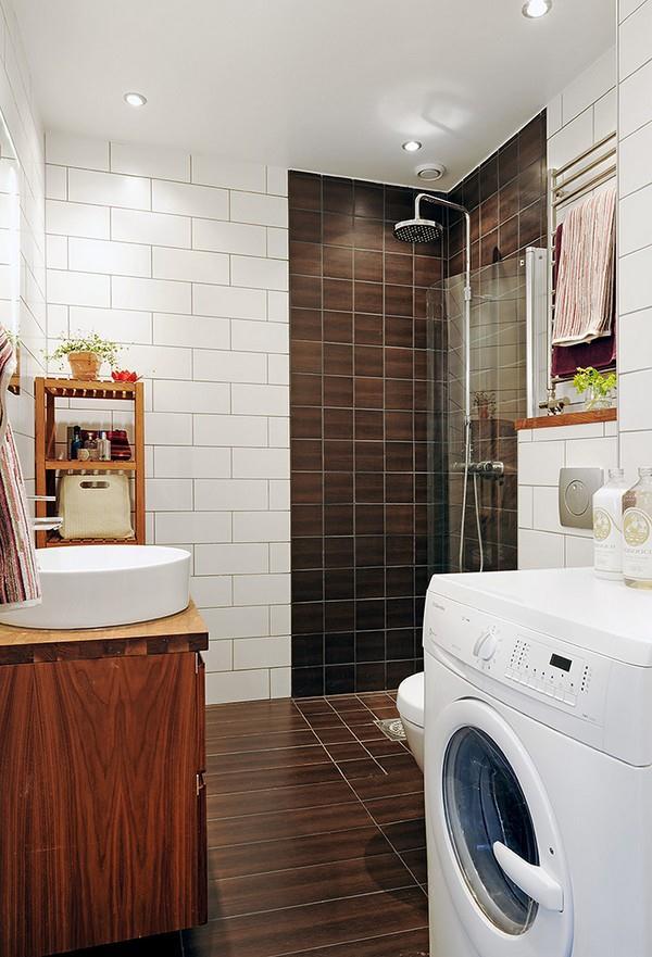 minimalist laundry room Design Ideas