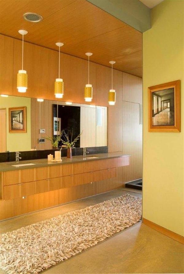 stylish bathroom decor on Ellis Residence by Coates Design