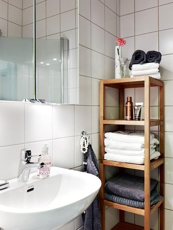 unique Remodeled Swedish Apartment Design Inspiration bathroom