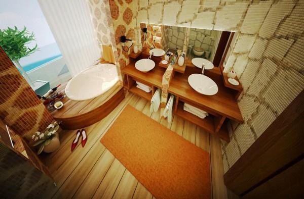 unique and stylish Bathroom Design that Bring Fresh and Good Mood to Start Your Day