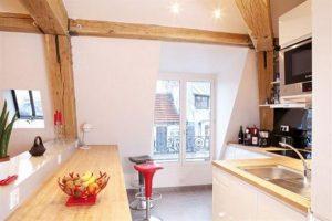 unique kitchen design on gorgeous Loft by FrA©dA©ric Flanquart x