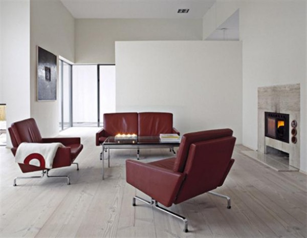 wooden Flooring Ideas with Oak Plank from Dinesen x