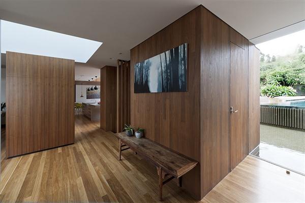 wooden Home Design by MCK Architects in Sydney Australia