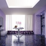 Bathroom inspiraryion Contemporary Violet Interior Design Ideas