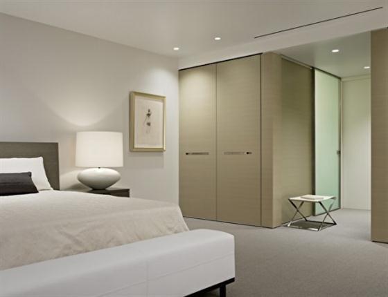 Bedroom of moderm wam apartment design
